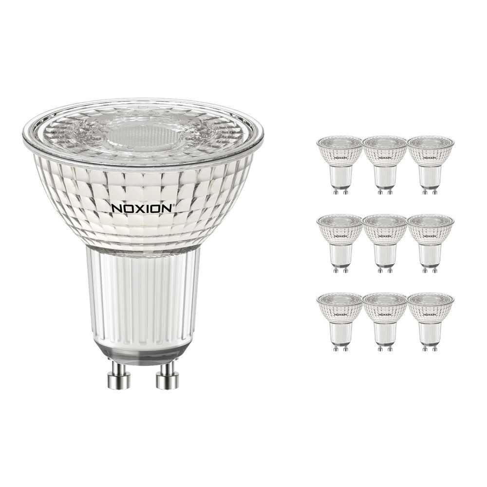 Multipack 10x Noxion LEDspot PerfectColor GU10 5.5W 940 36D | Dimmable - Replacer for 50W