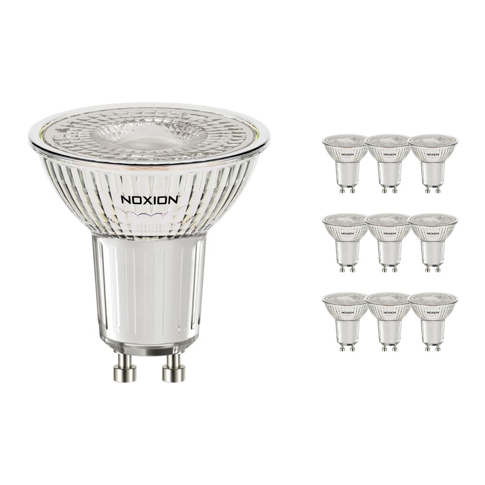 Multipack 10x Noxion LED Spot PerfectColor GU10 4W 927 60D 310lm | Dimmable - Replacer for 35W