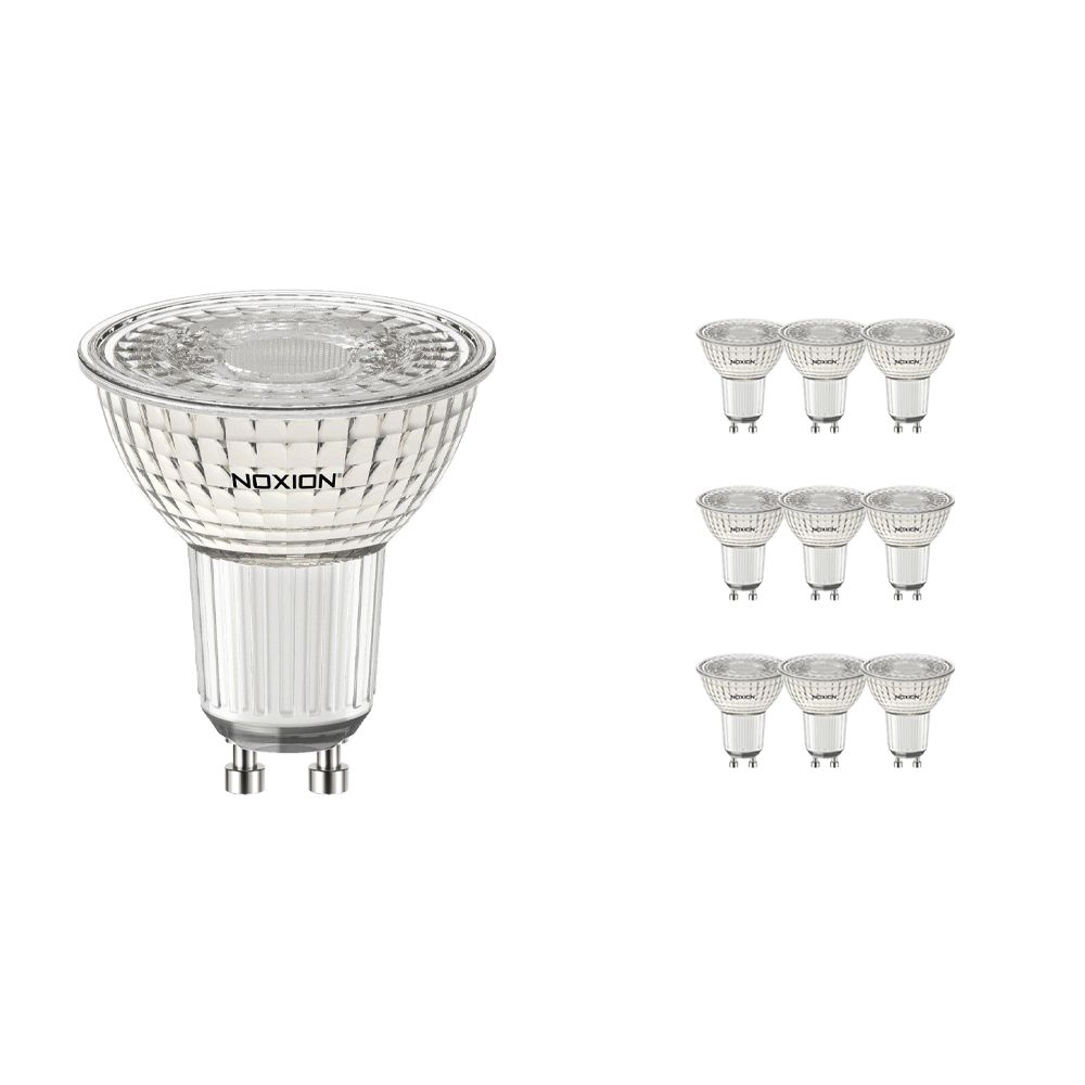 Multipack 10x Noxion LED Spot PerfectColor GU10 4W 930 60D 310lm | Dimmable - Warm White - Replaces 35W