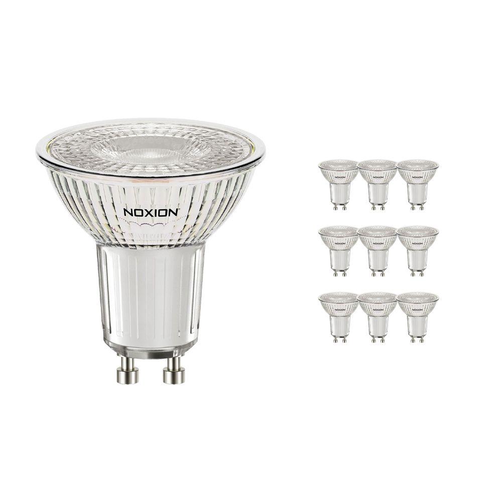 Flerpack 10x Noxion LED Spot GU10 3.2W 830 36D 310lm | Dimbar - Varm Vit - Ersättare 35W