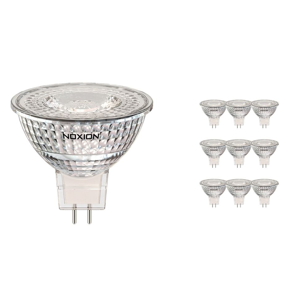 Multipack 10x Noxion LED Spot GU5.3 3.2W 827 36D 270lm | Replacer for 20W