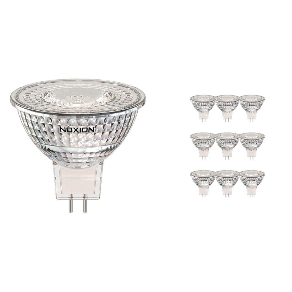 Multipack 10x Noxion LED Spot GU5.3 3.2W 827 36D 270lm | Vervanger voor 20W