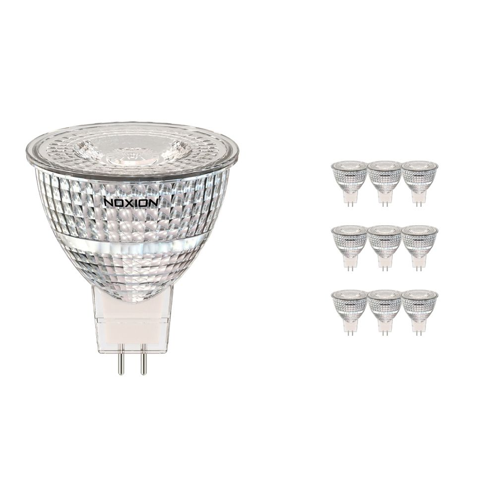 Multipack 10x Noxion LED Spot GU5.3 7.8W 827 36D 730lm | Extra Warm White - Replaces 50W