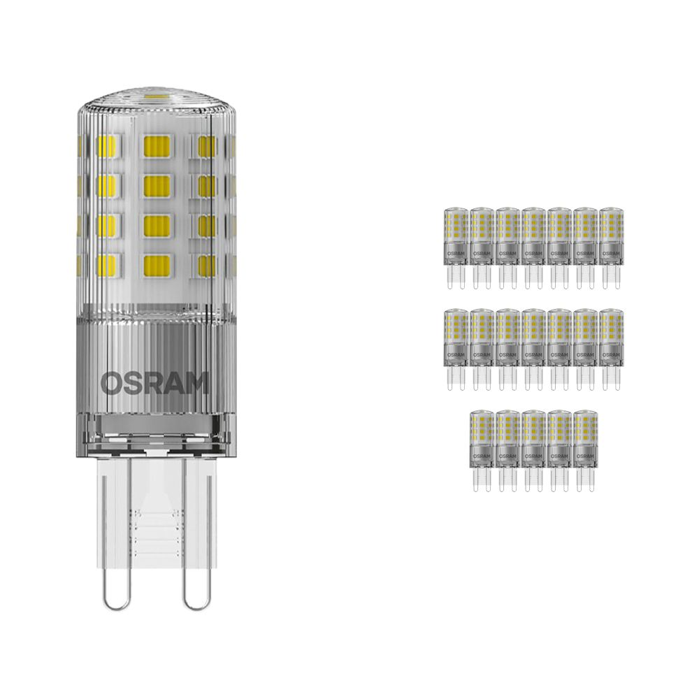 Voordeelpak 20x Osram Parathom LED PIN G9 4.2W 827 | Dimbaar - Vervanger voor 40W