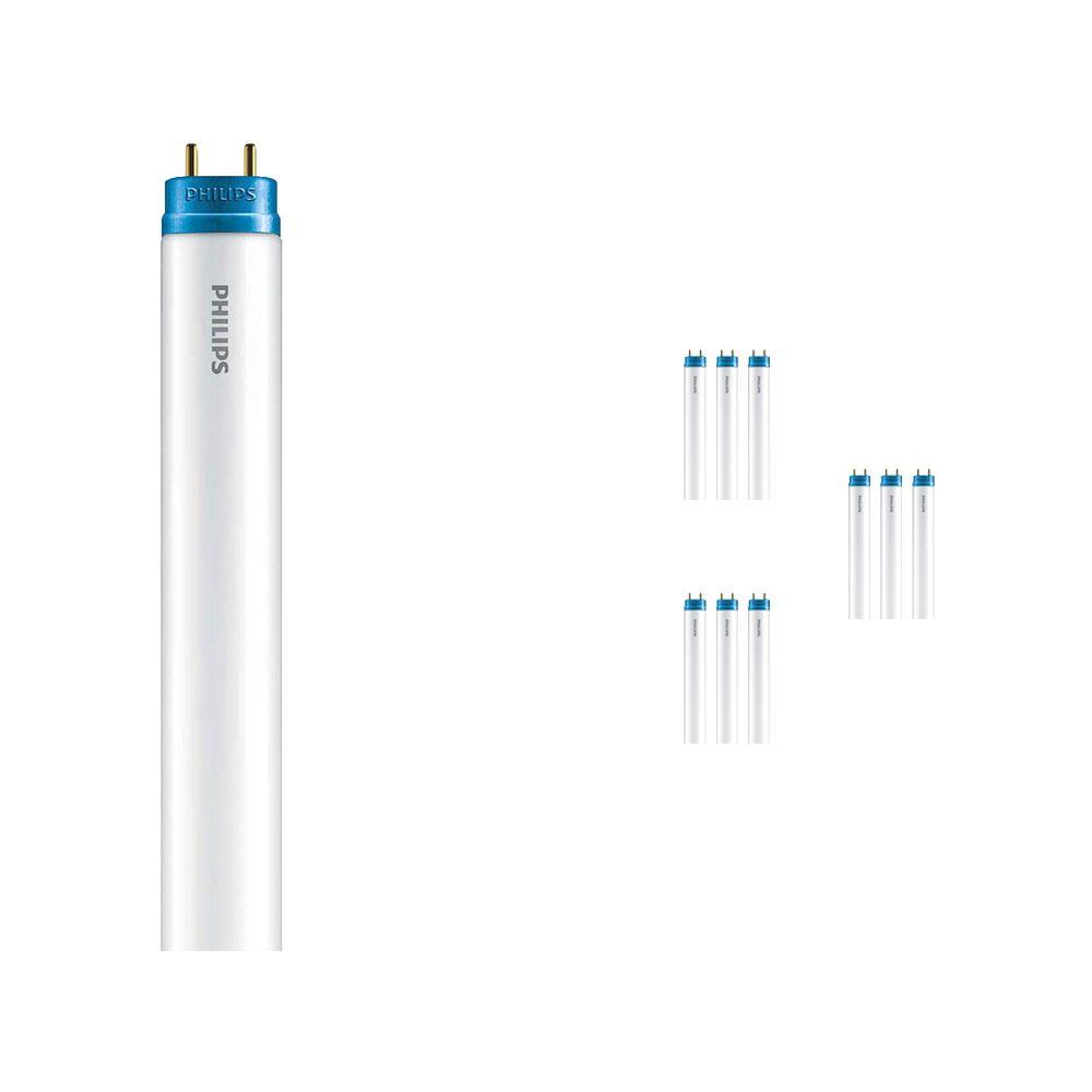 Mehrfachpackung 10x Philips CorePro LEDtube EM 8W 865 60cm | Tageslichtweiß - mit LED-Starter - Ersatz für 18W