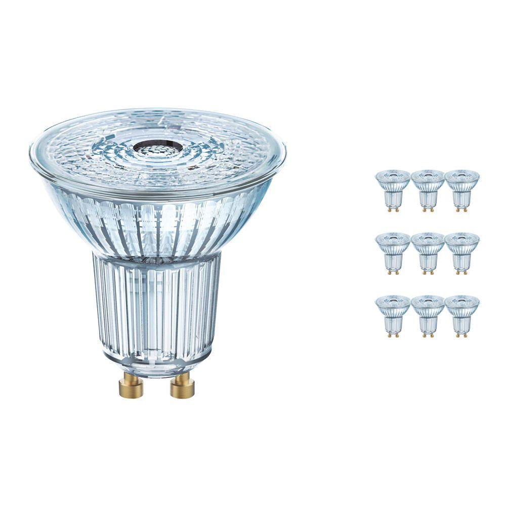 Voordeelpak 10x Osram Parathom GU10 PAR16 3.7W 927 36D | Dimbaar - Zeer Warm Wit - Beste Kleurweergave - Vervangt 35W
