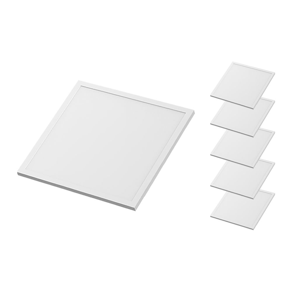 Mehrfachpackung 6x Noxion LED Panel Econox 62.5x62.5cm 6500K 32W | Tageslichtweiß - Ersatz für 4x18W
