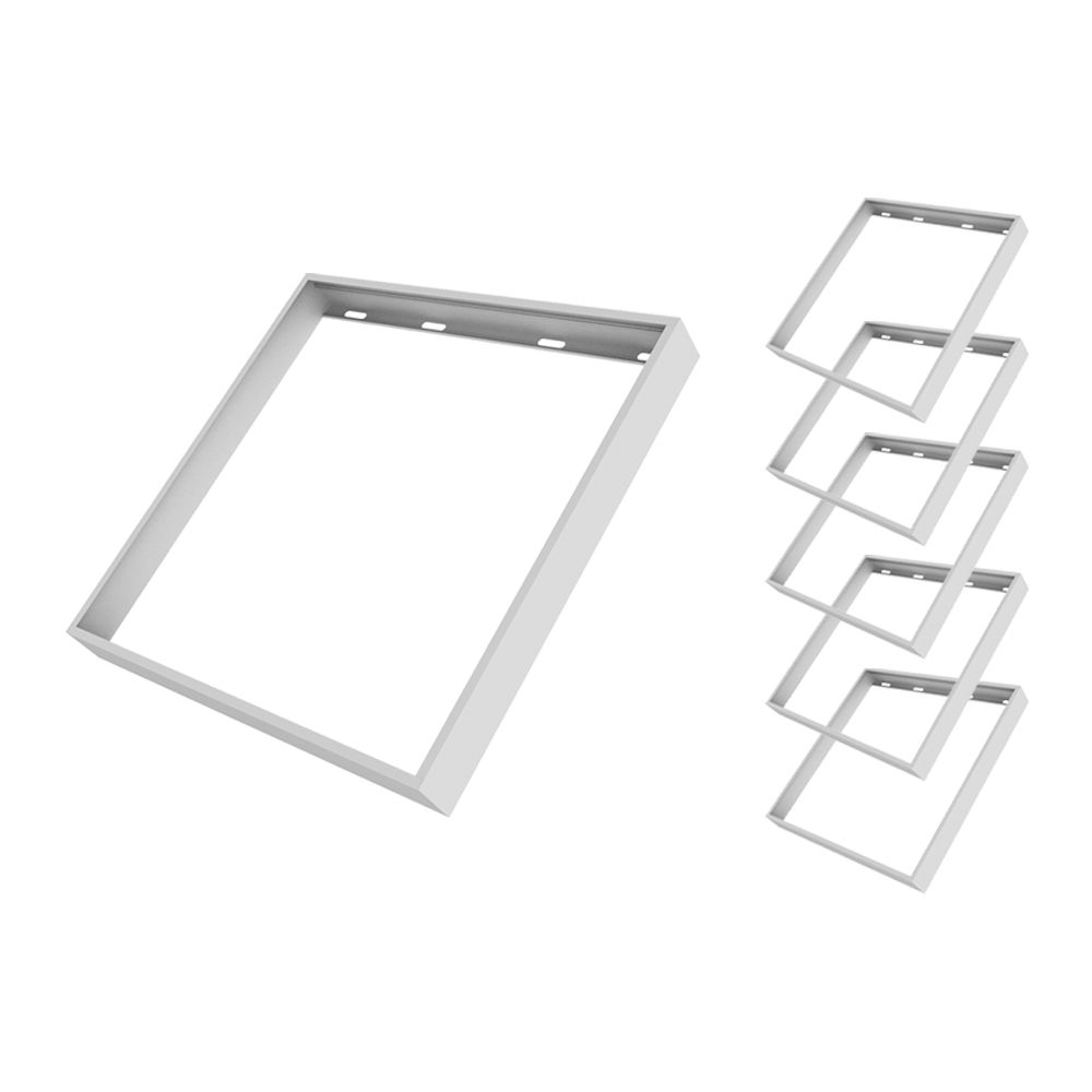 Mehrfachpackung 6x Noxion LED Panel Econox abnehmbare Oberflächenmontage 625x625