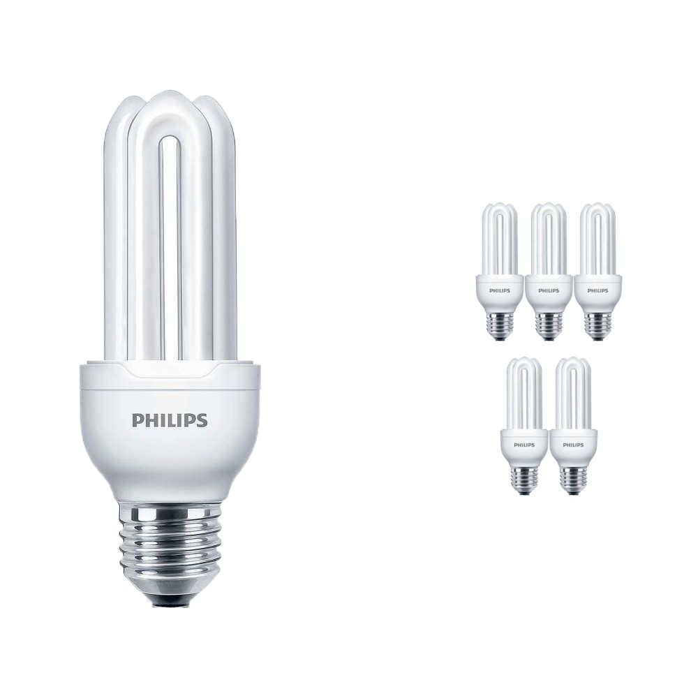 Mehrfachpackung 6x Philips Genie ESaver 11W 827 E27