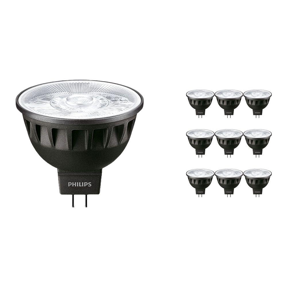 Voordeelpak 10x Philips LEDspot ExpertColor GU5.3 MR16 6.5W 930 36D (MASTER) | Hoogste Kleurweergave - Dimbaar - Vervanger voor 35W