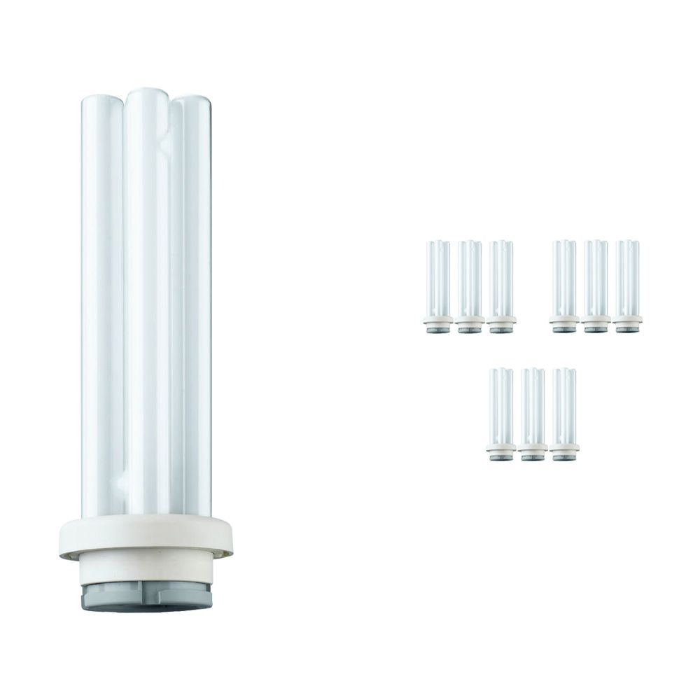 Voordeelpak 10x Philips PL-R Eco 17W 830 4P (MASTER) | Warm Wit - 4-Pin