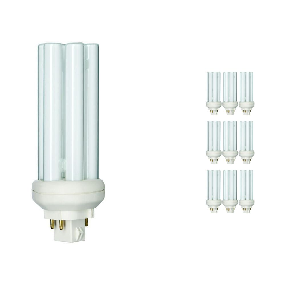 Multipack 10x Philips PL-T 26W 830 4P (MASTER) | Luz Cálida - 4-Pines