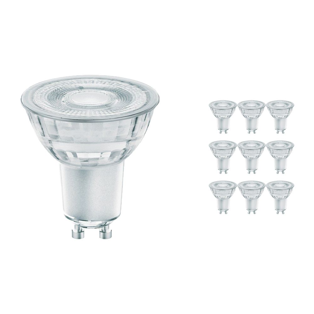 Multipack 10x Osram Parathom GU10 PAR16 4.6W 827 36D | GlowDim Dimmable - Replacer for 50W