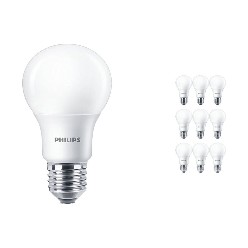 Multipack 10x Philips LEDbulb E27 A60 5.5W 927 Frosted (MASTER) | DimTone Dimmable - Replaces 40W
