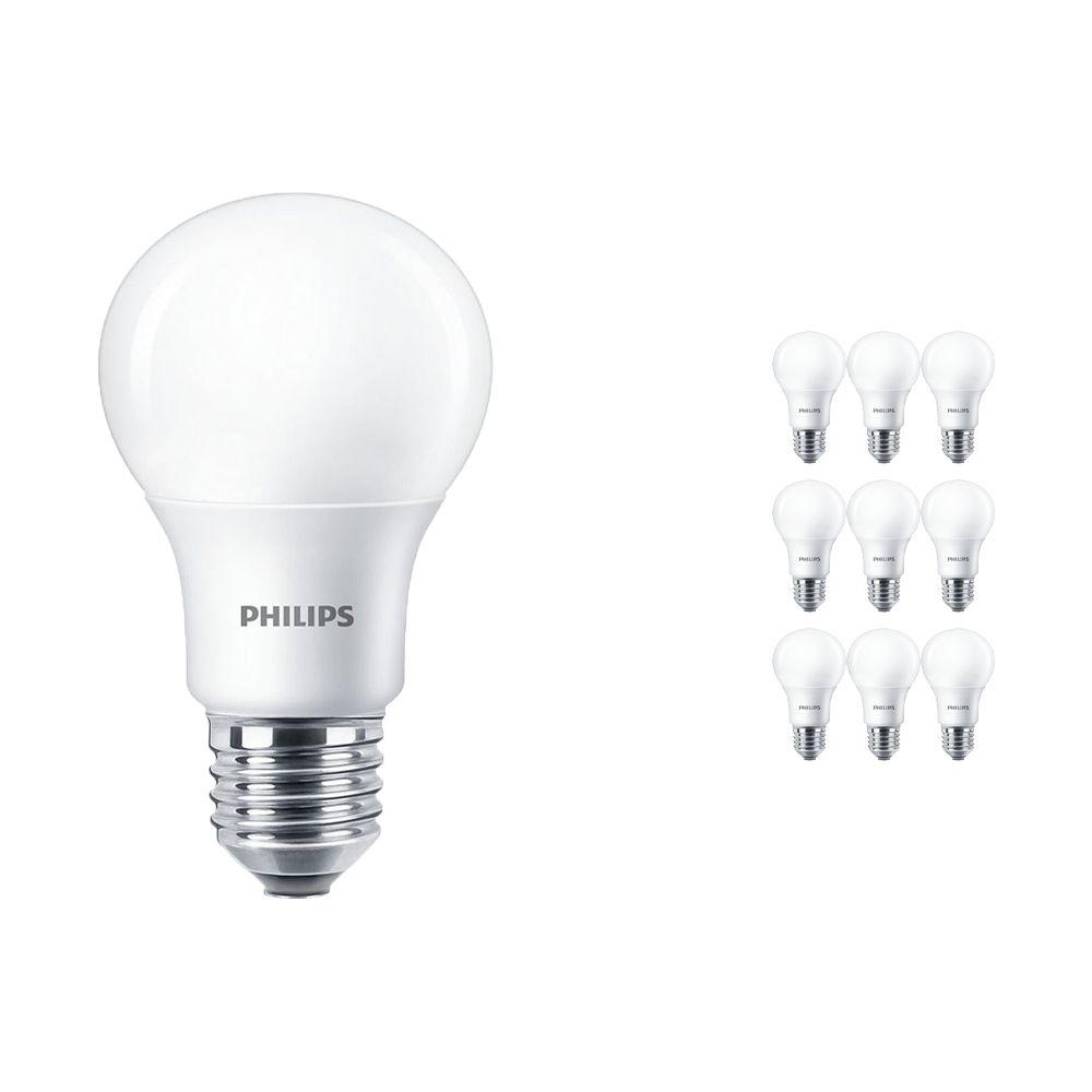 Mehrfachpackung 10x Philips LEDbulb E27 A60 5.5W 927 Matt (MASTER) | DimTone Dimmbar - Ersatz für 40W