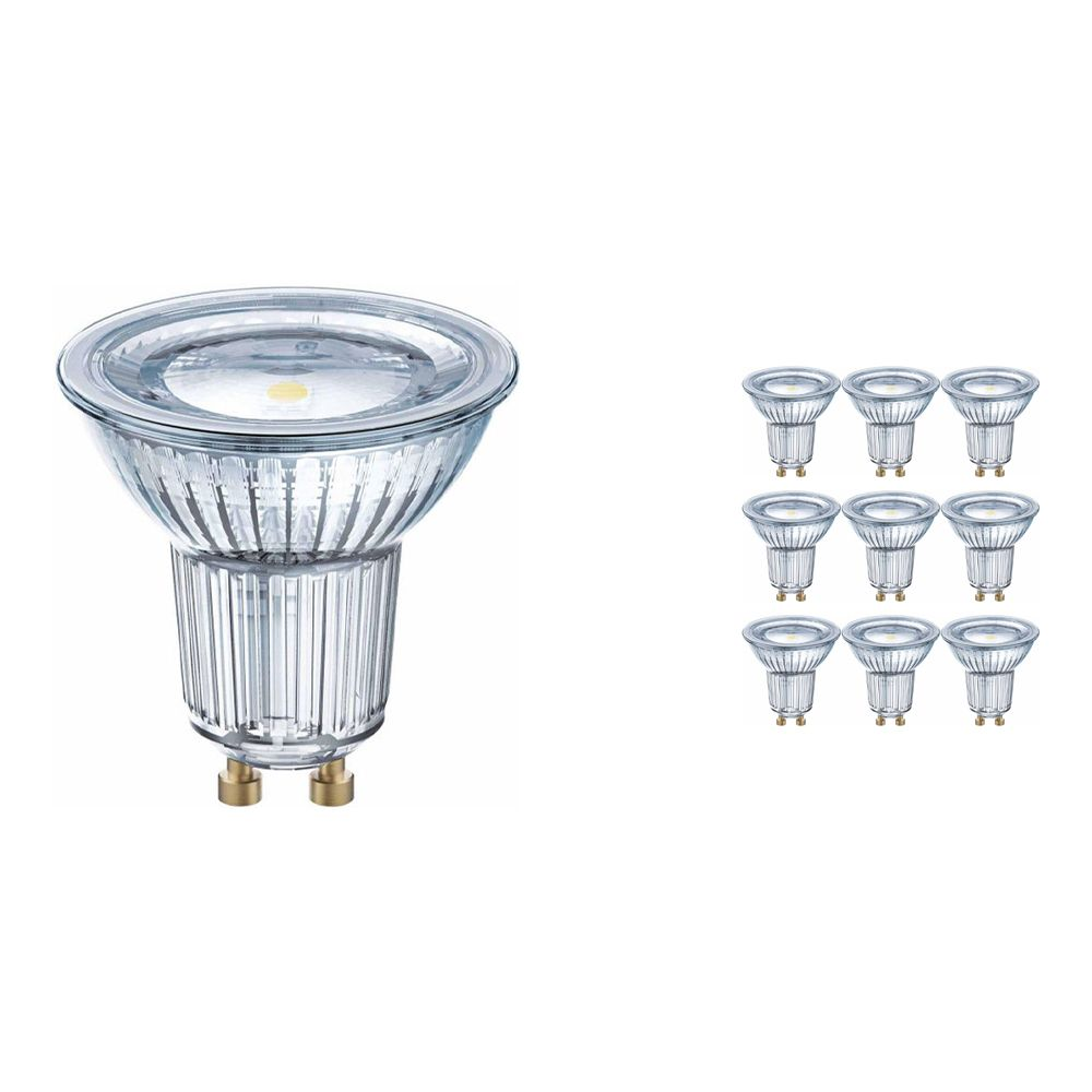 Voordeelpak 10x Osram Parathom GU10 PAR16 4.3W 830 120D | Warm Wit - Vervangt 50W