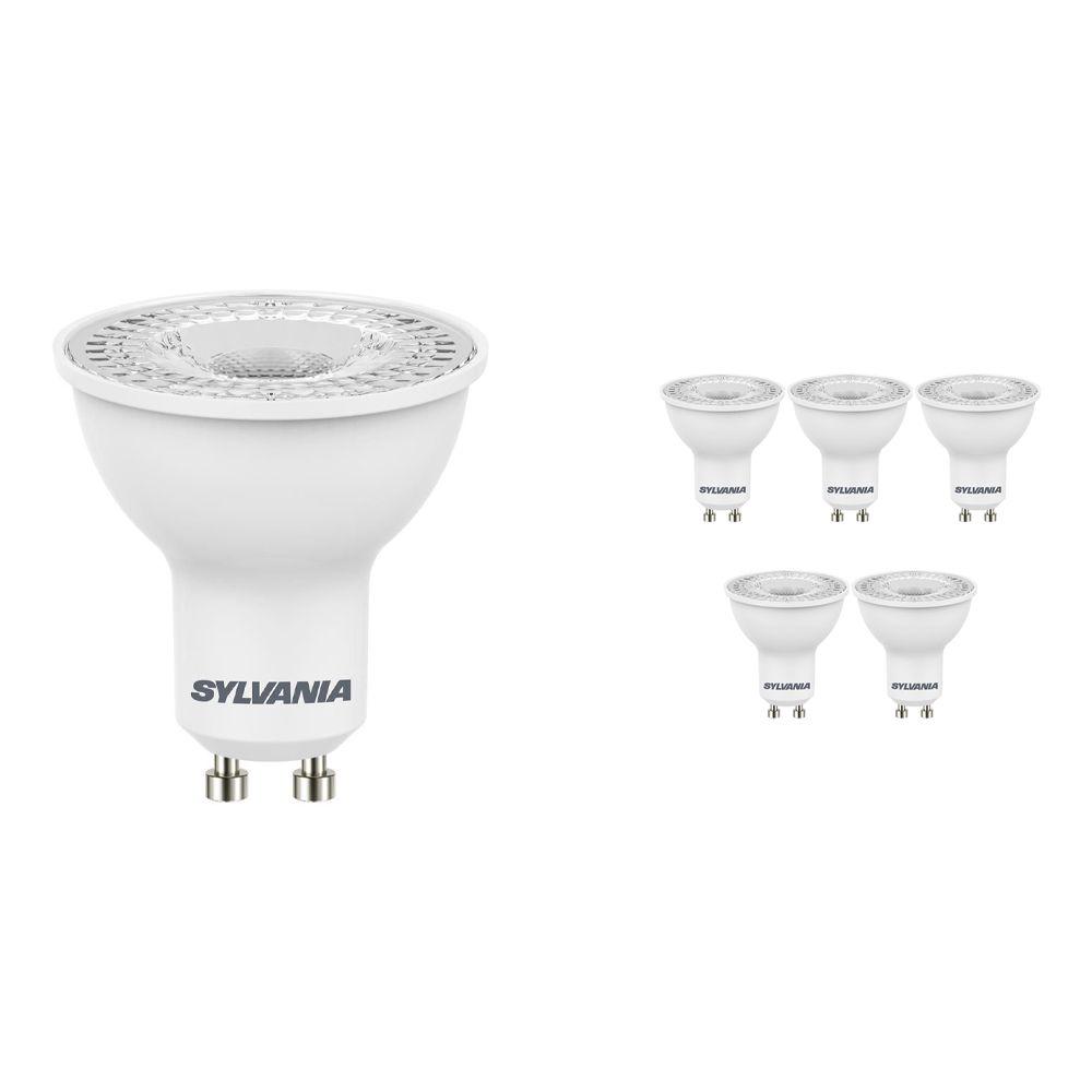 Voordeelpak 6x Sylvania RefLED GU10 ES50 4.5W 865 36D SL   Daglicht - Vervangt 50W