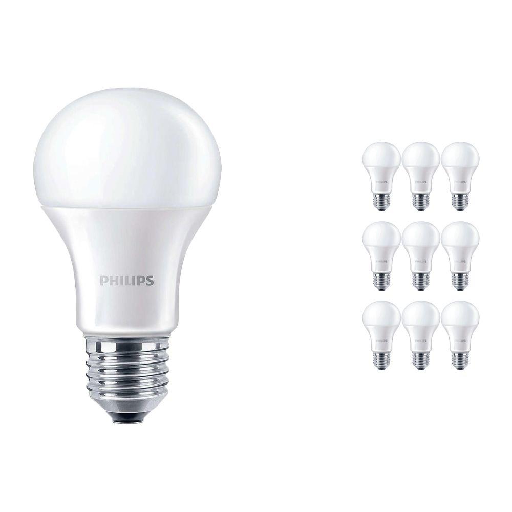 Confezione Multipack 10x Philips CorePro LEDbulb 13.5 - 100W 827 E27