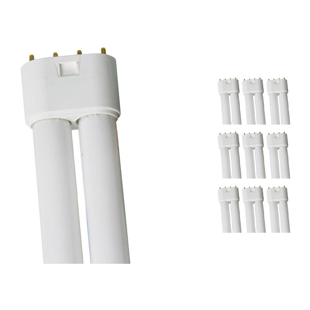 Lot 10x Osram Dulux L 18W 830 | Blanc Chaud - 4-Pins