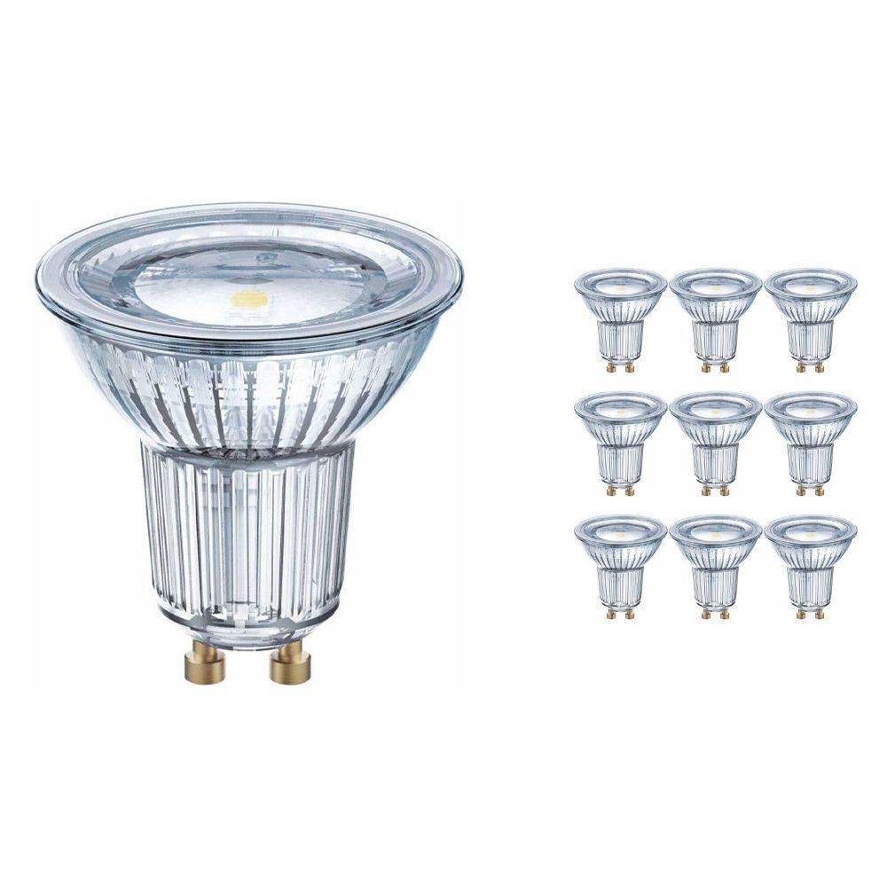 Voordeelpak 10x Osram Parathom GU10 PAR16 6.9W 830 120D | Warm Wit - Vervangt 80W