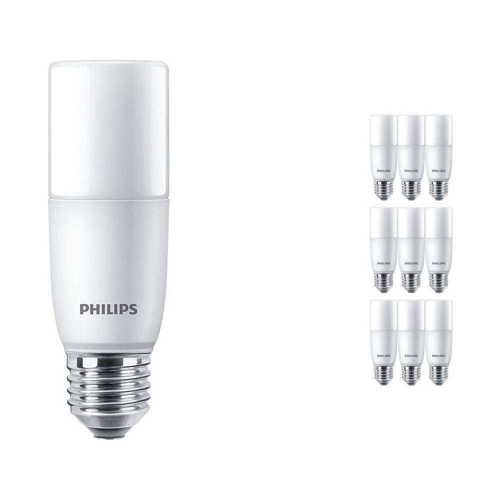 Mehrfachpackung 10x Philips CorePro LED Stick E27 9.5W 830 Matt | Warmweiß - Ersatz für 68W