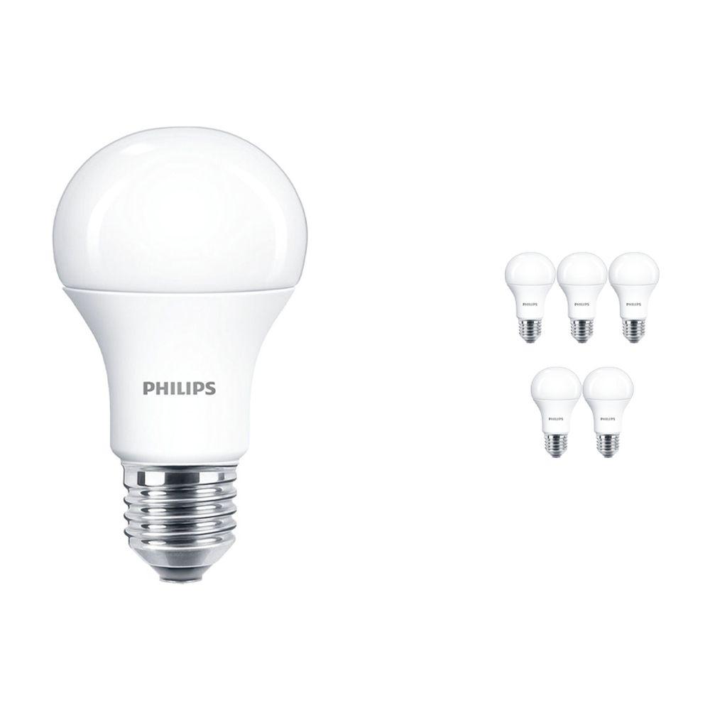 Mehrfachpackung 6x Philps CorePro LEDbulb E27 A60 10.5W 927 Matt | Extra Warmweiß - Ersatz für 75W