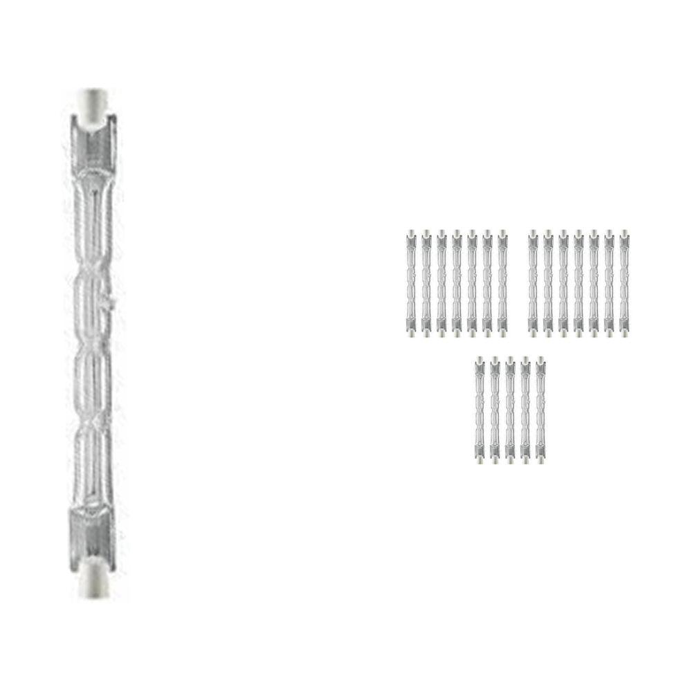 Lot 20x Osram Haloline 64696 Eco ES 120W 230V 11.4cm R7s long