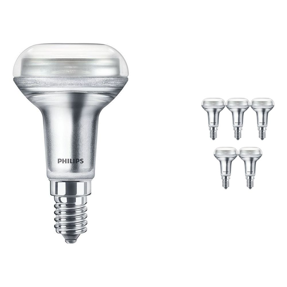 Voordeelpak 6x Philips CorePro LEDspot E14 Reflector R50 1.4W 827 36D | Zeer Warm Wit - Vervangt 25W