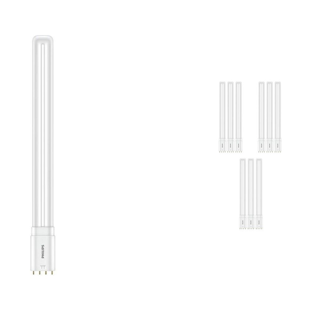 Multipack 10x Philips CorePro PL-L HF LED 16.5W 865 | Daylight - 4-Pin - Replaces 36W