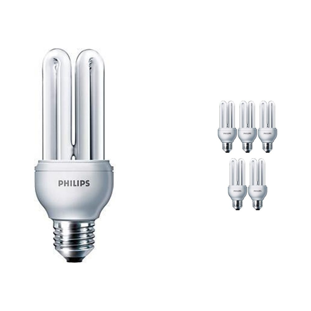 Voordeelpak 6x Philips Genie ESaver 18W 865 E27 |