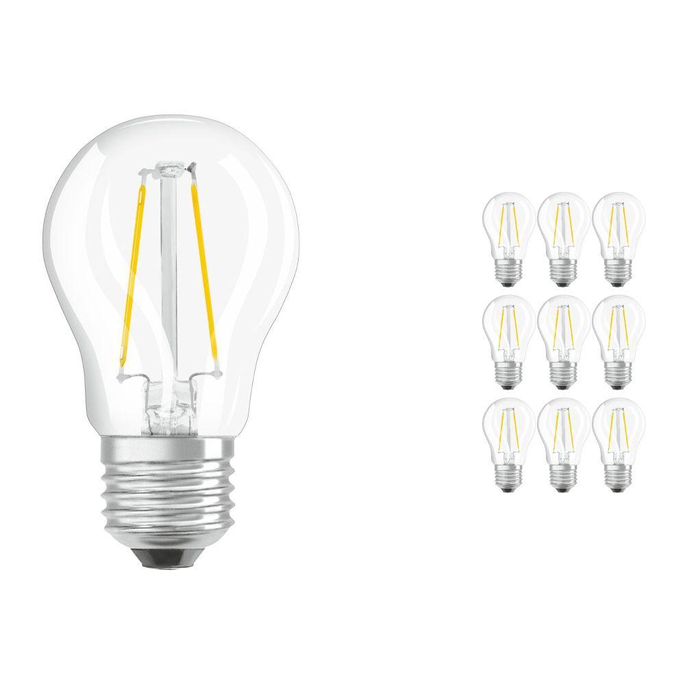 Lot 10x Osram Parathom Retrofit classique E27 P 2.5W 827 Filament | Remplacement 25W