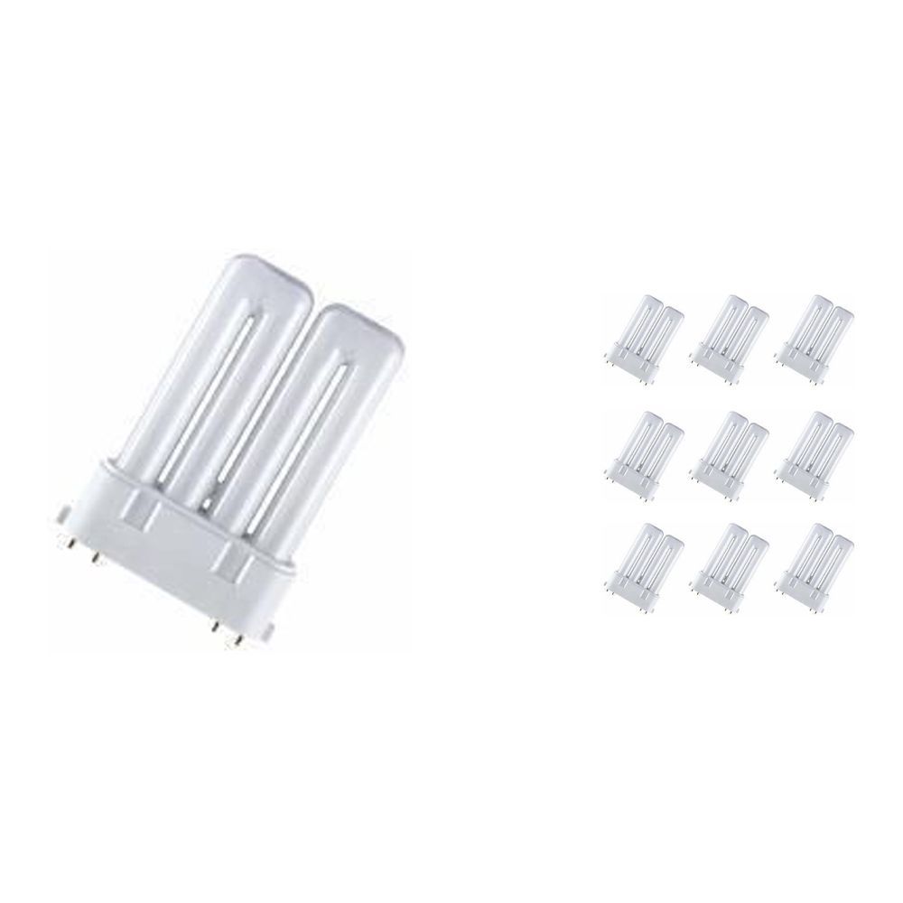 Mehrfachpackung 10x Osram Dulux F 36W 840 | 4-Pins