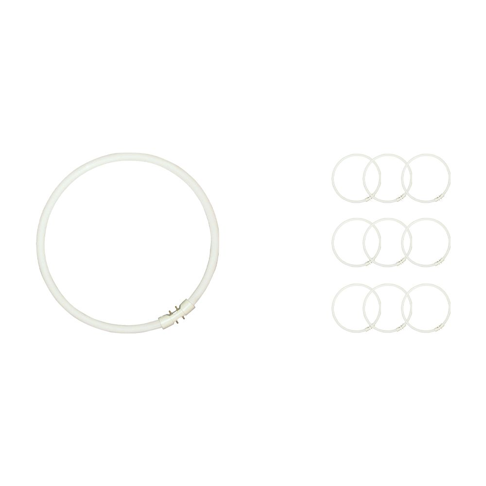 Mehrfachpackung 10x Sylvania Circline Plus T5 40W 840 2GX13 | Kaltweiß