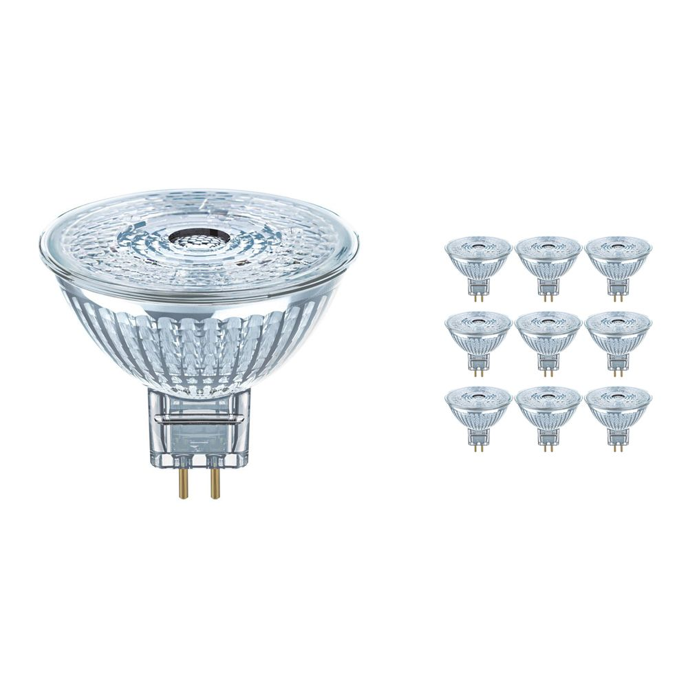 Multipack 10x Osram Parathom Pro GU5.3 MR16 4W 927 230lm | Dimmable - Extra Warm White - Replaces 20W