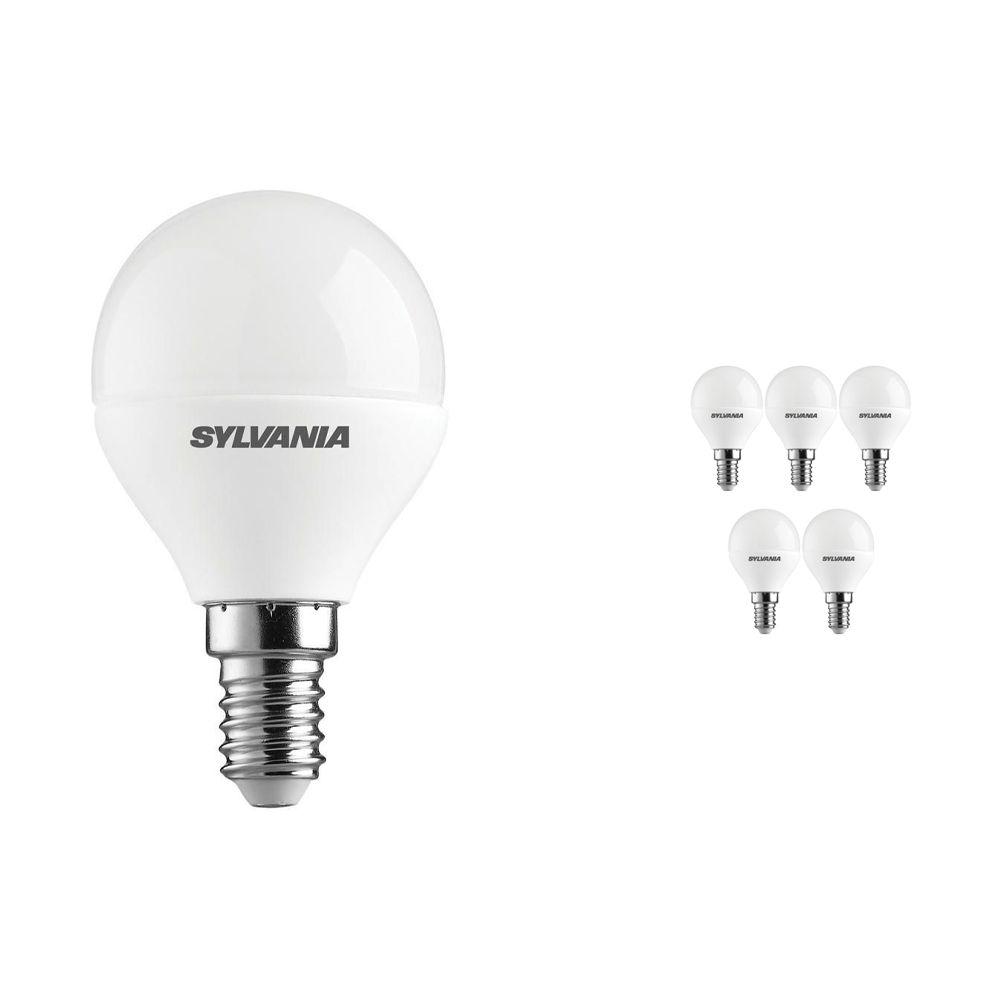 Flerpack 6x Sylvania ToLEDo Ball E14 Matt 6.5W | Dimbar - Ersättare 40W