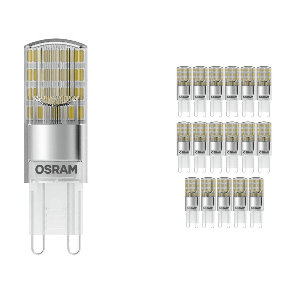 Mehrfachpackung 18x Osram Parathom Pin G9 2.6W 827 Klar | Ersatz für 30W