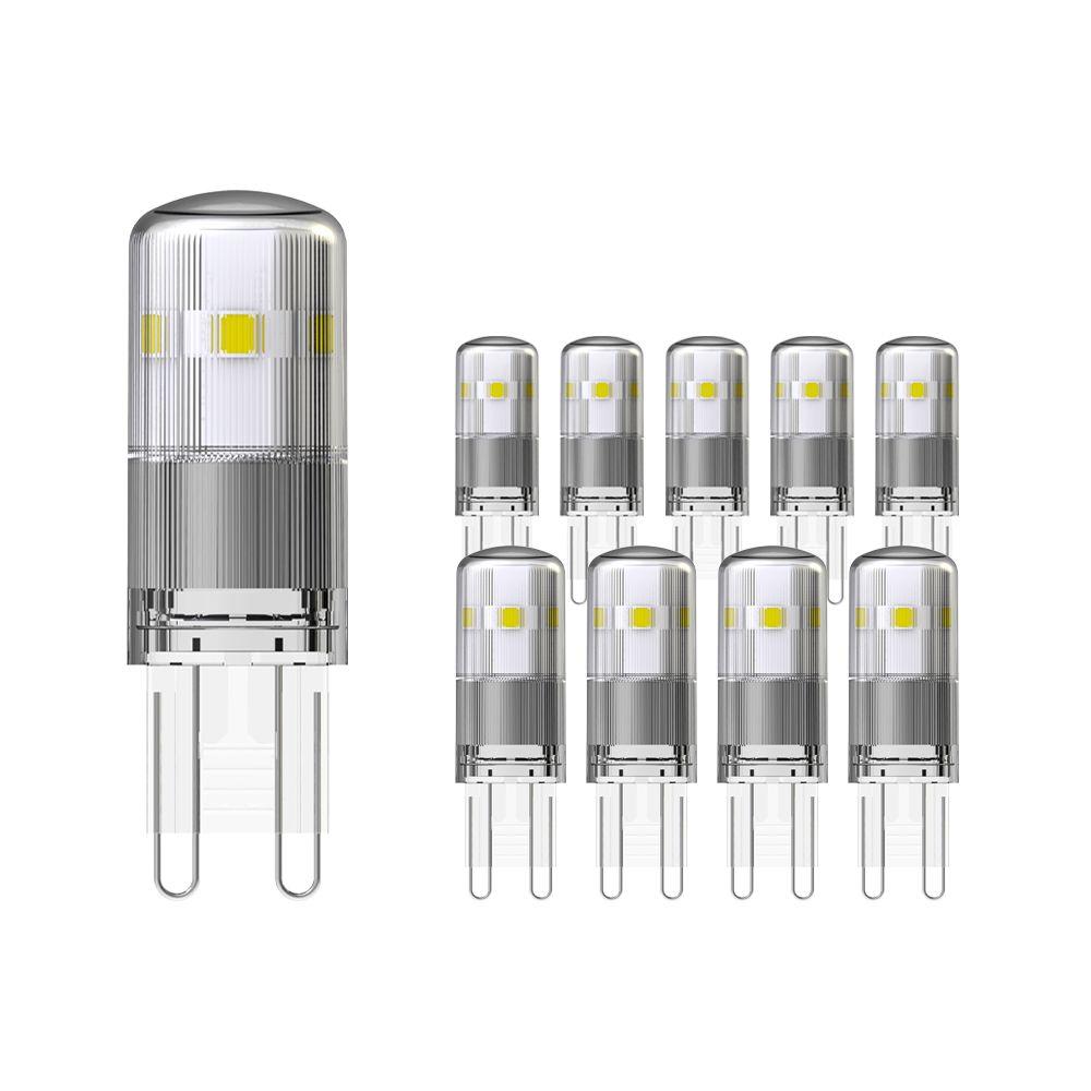 Flerpack 10X Noxion LED Bolt G9 1.9W 830   Varm Vit - Ersättare 21W