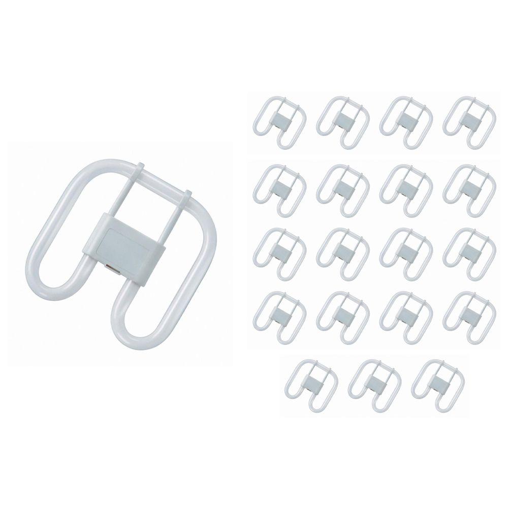 Confezione Multipack 20x Osram CFL Piazza 28W 827 4P GR10Q | Bianco MolaCaldo - 4-Pin
