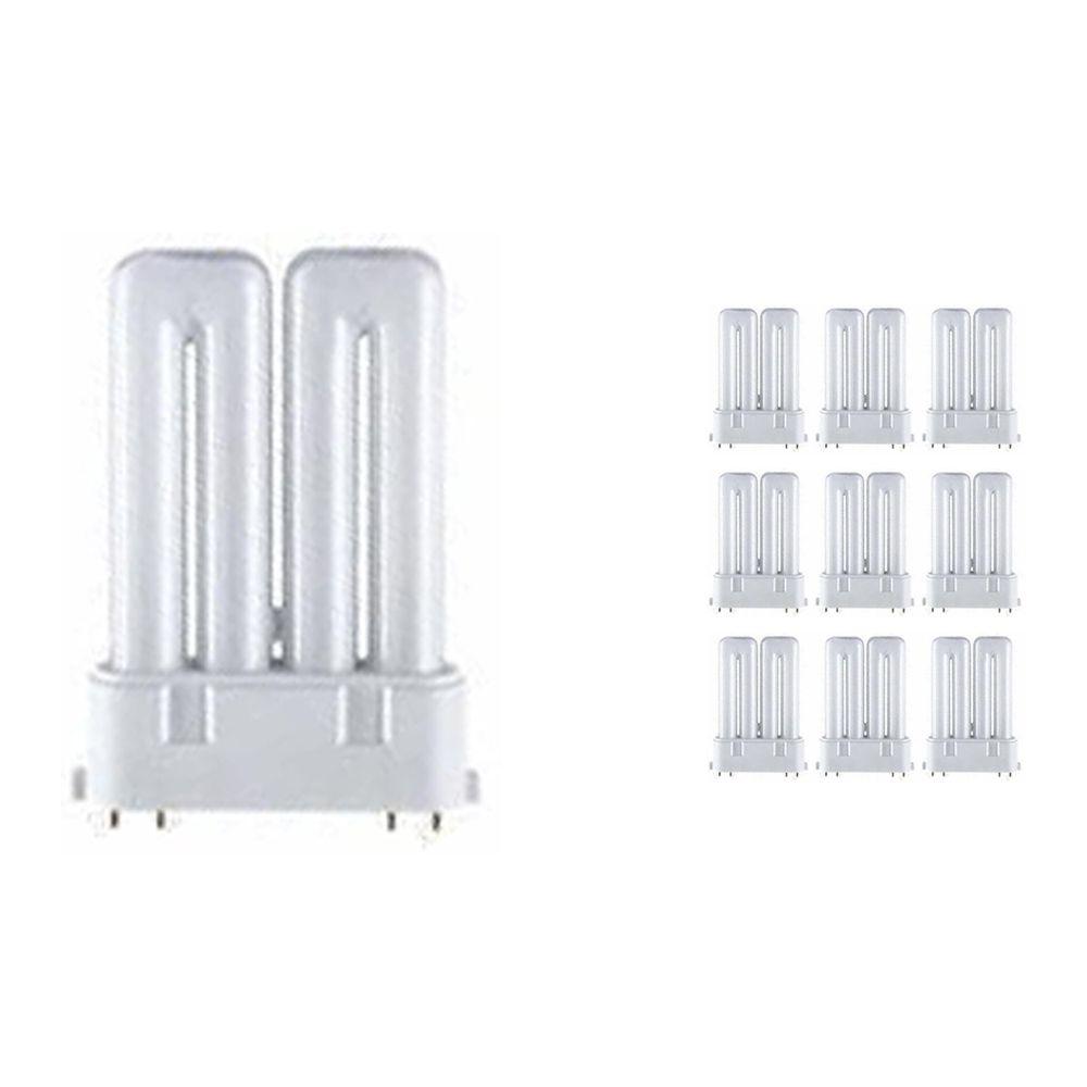 Confezione Multipack 10x Osram Dulux F 18W 830 | Luce Calda - 4-Pin