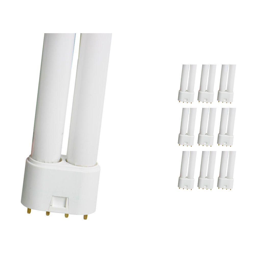 Confezione Multipack 10x Osram Dulux L 55W 840 | Bianco Freddo - 4-Pin