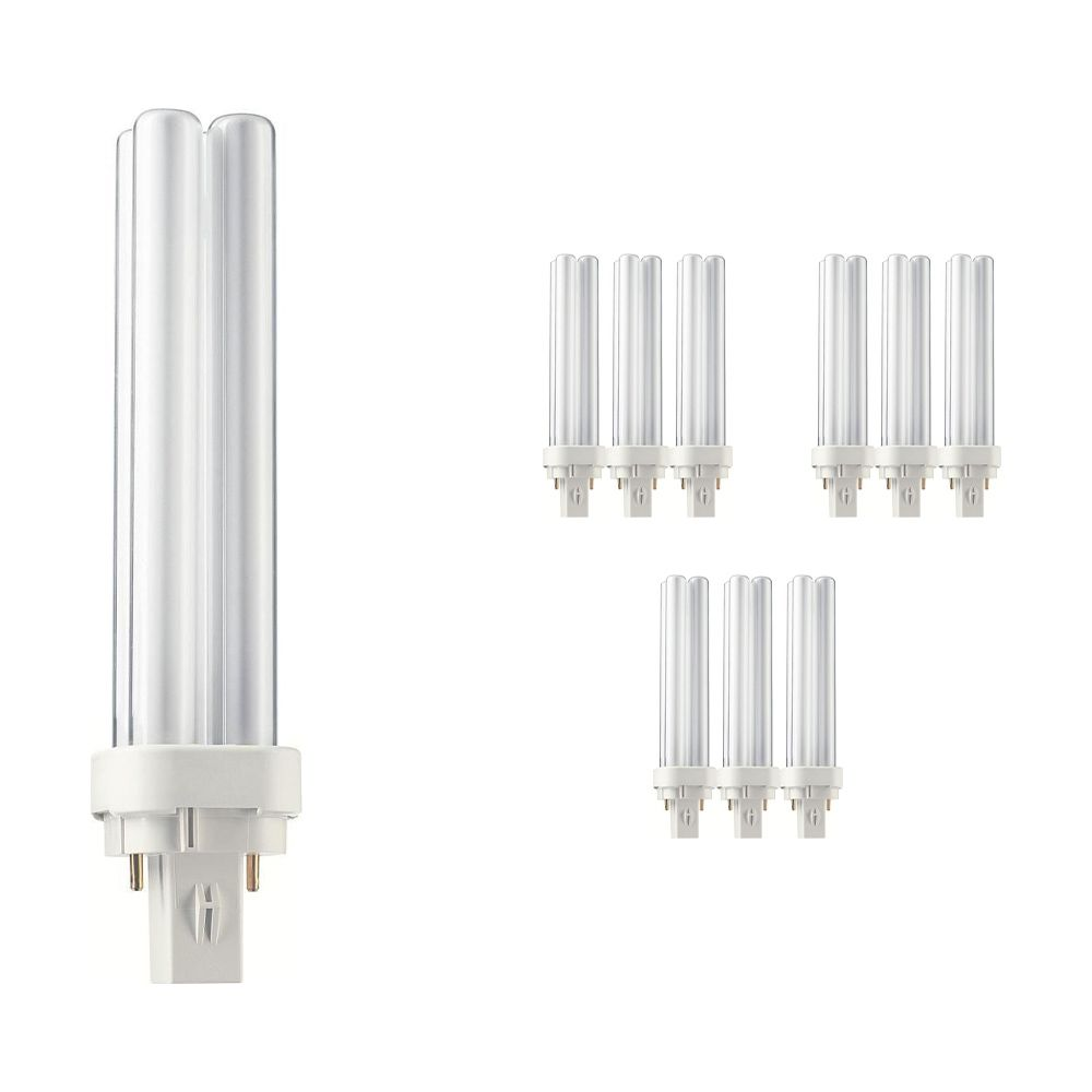 Voordeelpak 10x Philips PL-C 26W 865 2P (MASTER) | 2-Pins