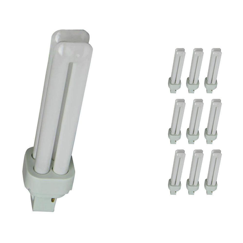 Confezione Multipack 10x Osram Dulux D 18W 830 | Luce Calda - 2-Pin