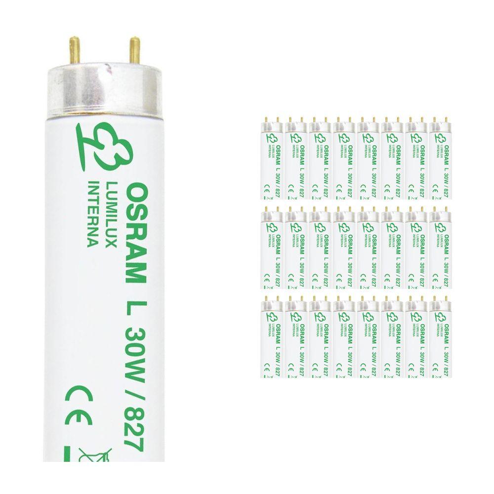 Confezione Multipack 25x Osram L 30W 827 Lumilux Interna | 89.5cm - Bianco MolaCaldo