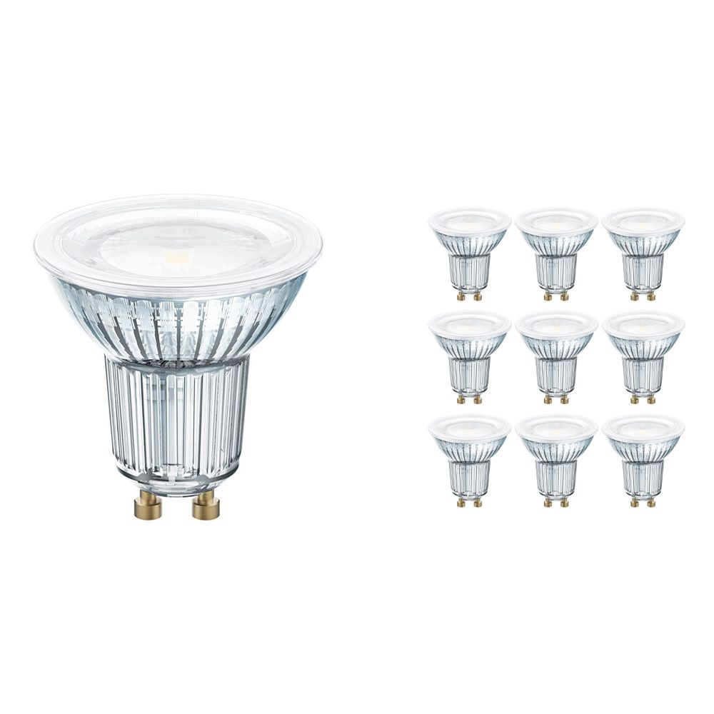 Multipack 10x Osram Parathom GU10 PAR16 9W 930 575lm | Dimmable - Replacer for 80W