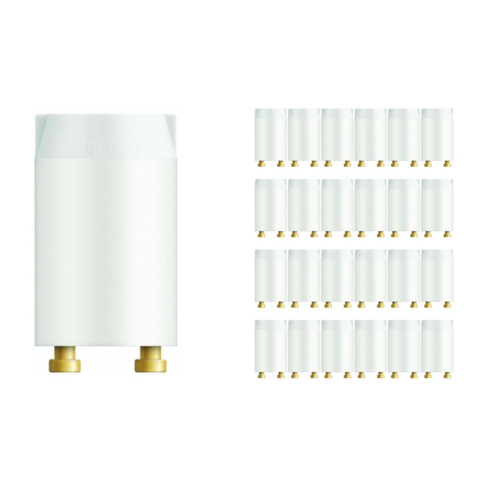 Mehrfachpackung 25x Osram Starter St 151 4-22W Longlife SERIE