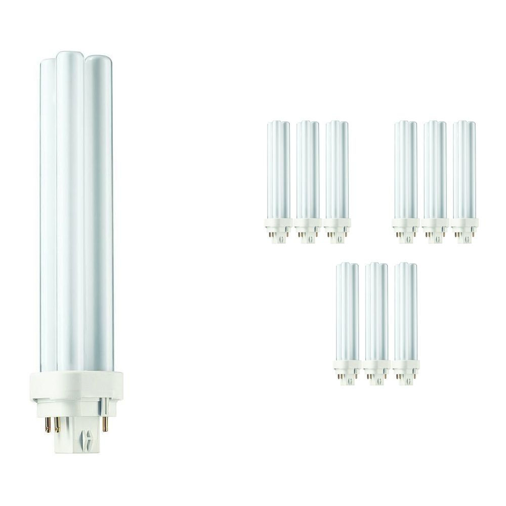 Mehrfachpackung 10x Philips PL-C 26W 827 4P (MASTER)   4-Pins