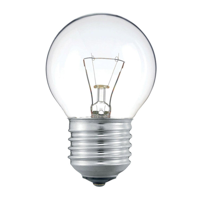 Standard Incandescent Bulb Round Clear P45 E27 60W 230V