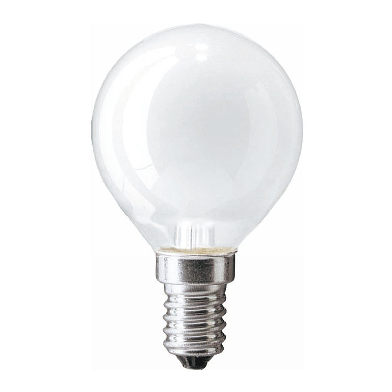 Standard Incandescent Bulb Round Frosted P45 E14 25W 230V