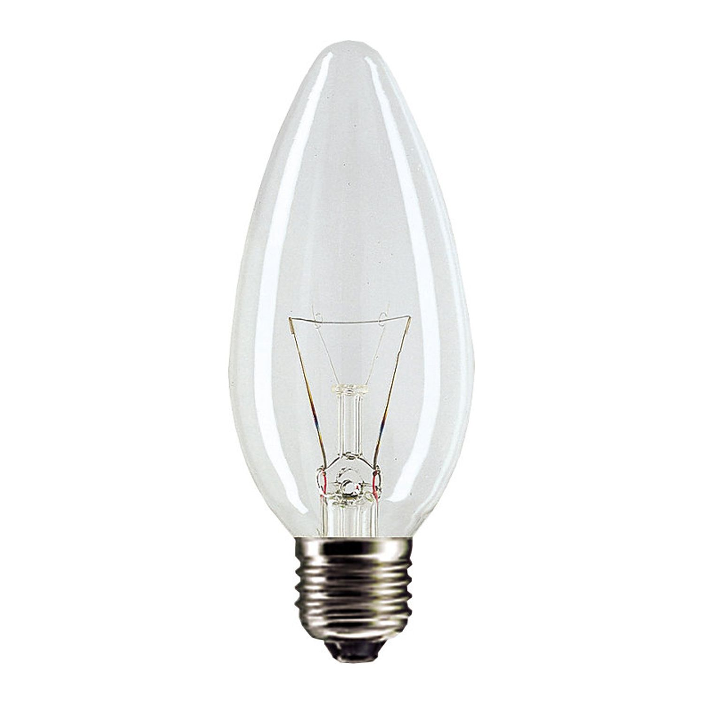 Standard Glühlampe Kerze Klar B35 E27 60W 230V