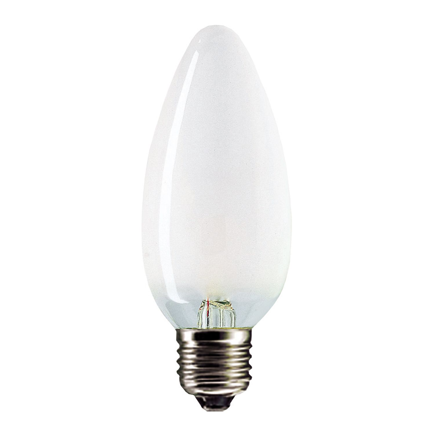 Standard Incandescent Candle Frosted B35 E27 25W 230V